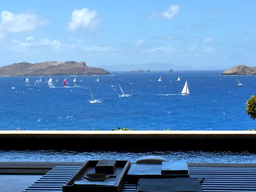 Videos of Les Voiles de St Barth – Day 1 from Villa BelAmour