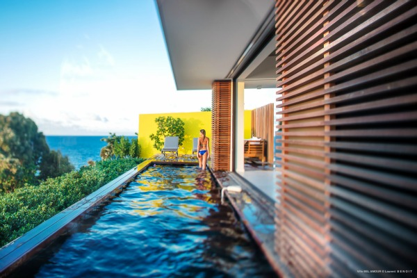 BelAmour st barts villa with sunset view