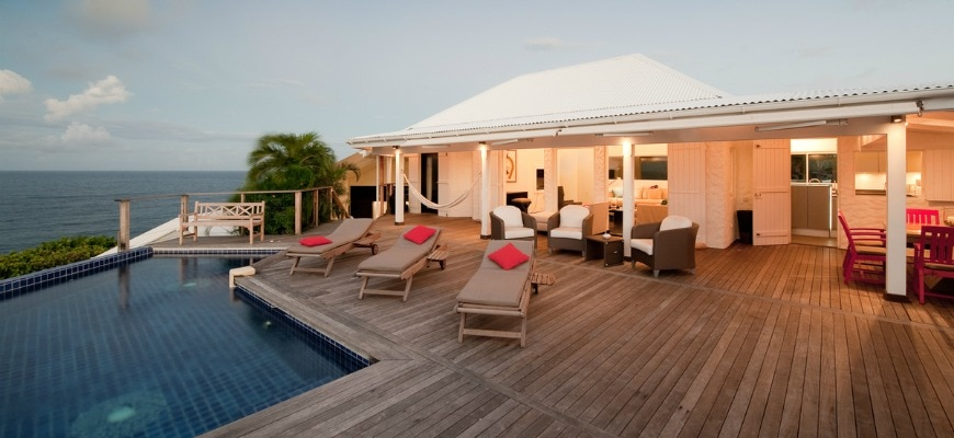 St Barts Villas : When the owner comes …