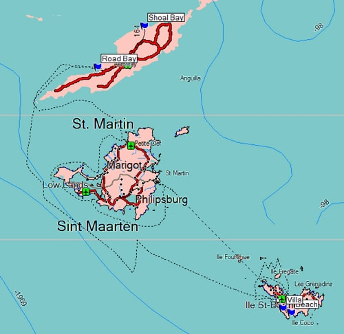 St Barts Island and St Martin Officially Independent