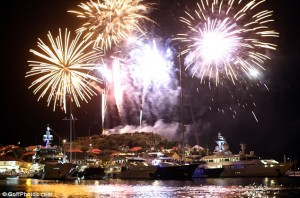 New Year in St. Barths