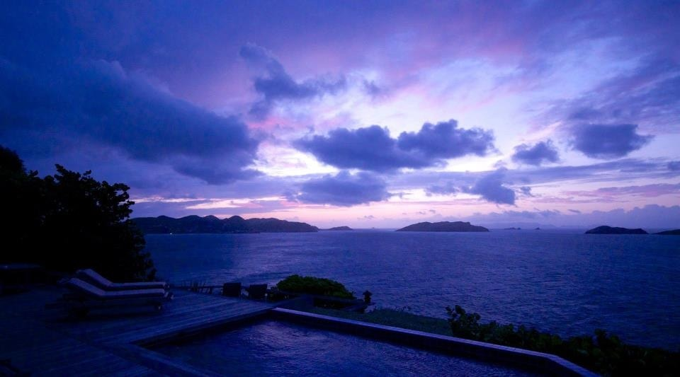 Different Times of Day and Night in St. Barths
