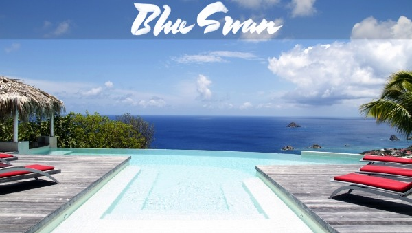 Blue Swan in Lurin - St Barts villas with a view