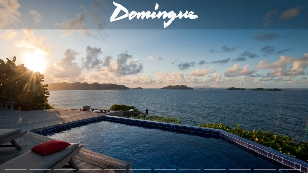 Domingue - St Barts villas with a view