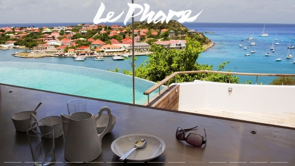 Le Phare - St Barts villas with a view