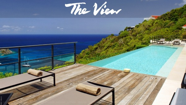 The View in Colombier - St Barts villas with a view