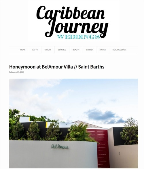 caribbean journey weddings belamour st barts