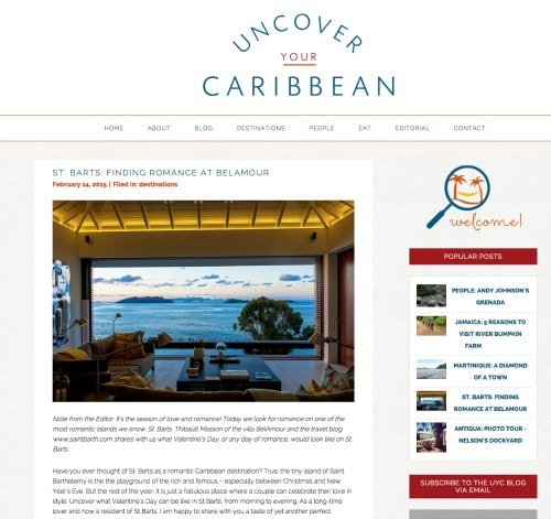 uncover your caribbean st barts belamour