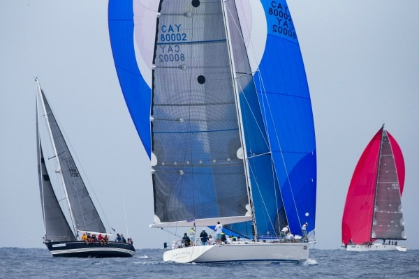 les voiles de saint barth race