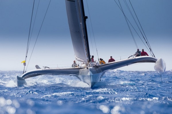 les voiles de saint barth sailing race