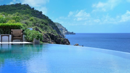 gay st barts - pool with a view