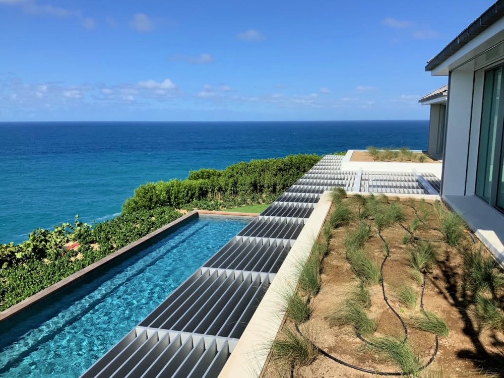 villa domingue st barths pool from top 1